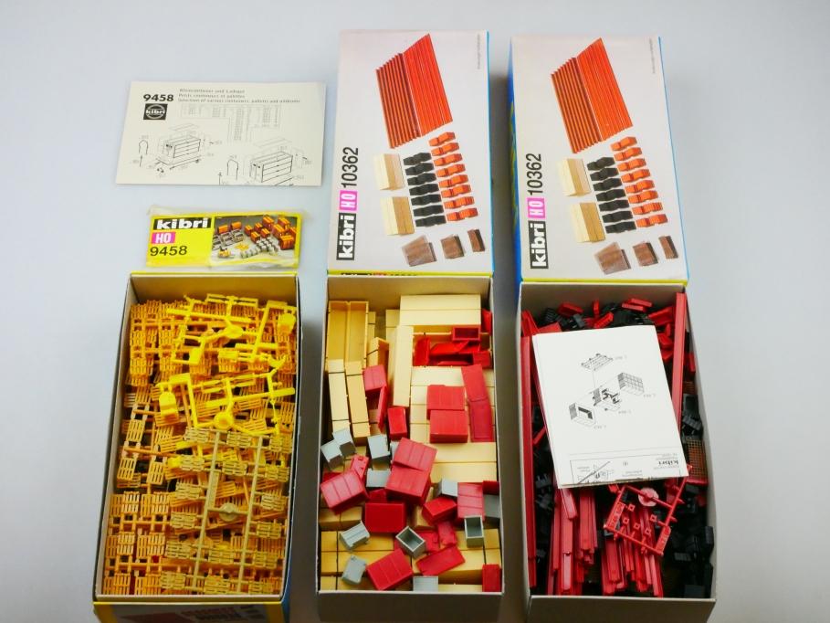 Kibri H0 Ladegut 10362 9458 Holzpaletten Gabelstapler kit teilw. OVP PTA 109690