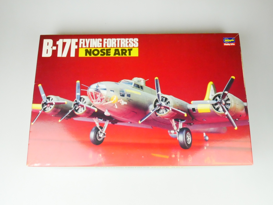 Hasegawa 1/72 B-17F Flying Fortress Nose Art SP 18 plane kit OVP 109715