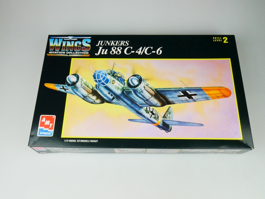 Amt 1/72 Junkers Ju 88 C-1/ C-6 No. 8898 plane model kit 109740