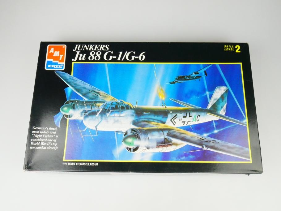 Amt 1/72 Junkers Ju 88 G-1/ G-6 No. 8897 plane model kit 109739