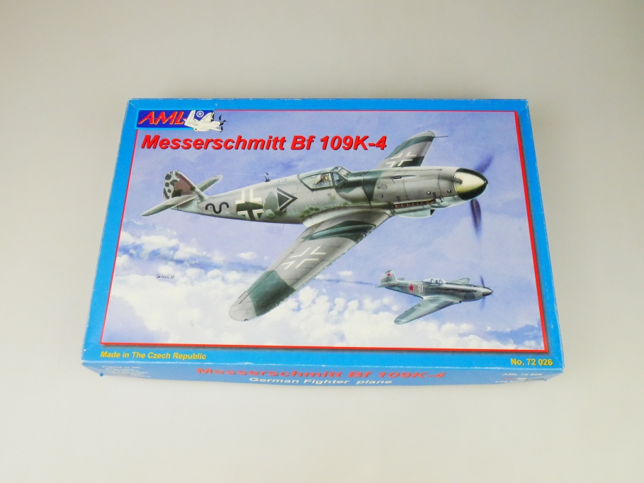 AML 1/72 Messerschmitt Bf 109K-4 No 72 026 plane kit OVP 109760