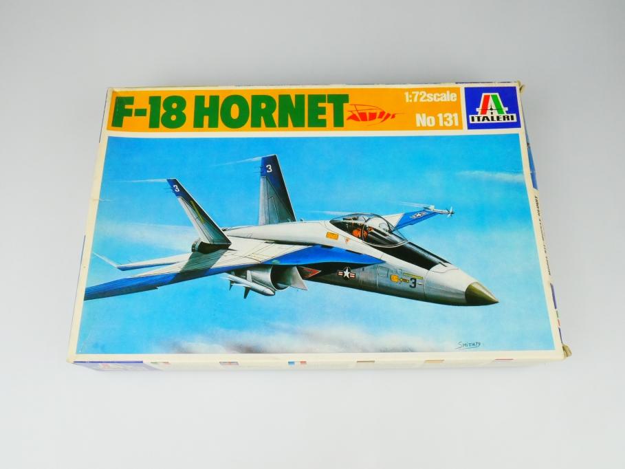 Italeri 1/72 F-18 Hornet No. 131 plane kit OVP 109770