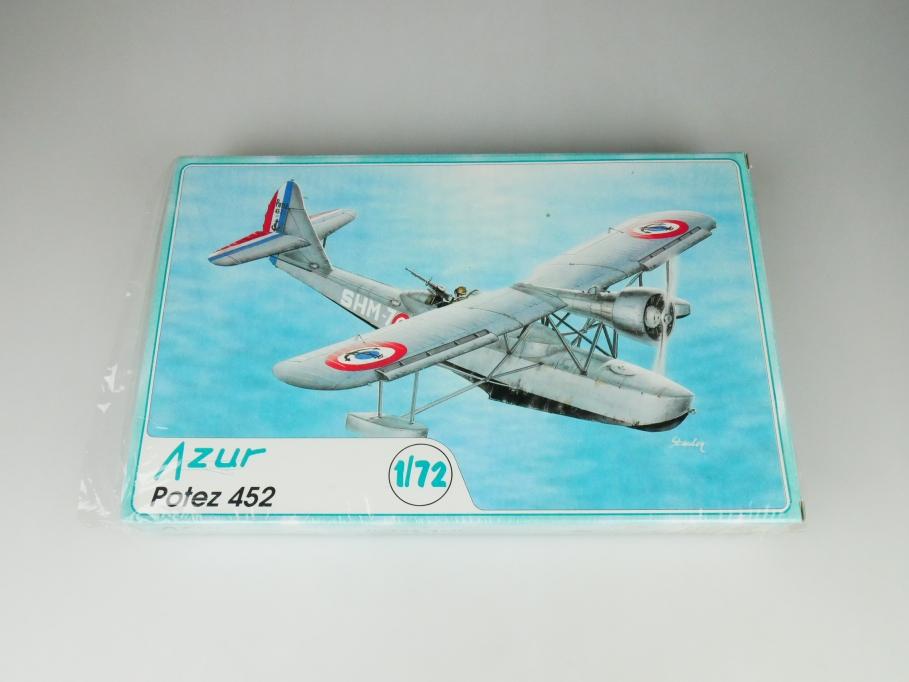 Azur 1/72 Potez 452 No. 012 plane model kit OVP 109779
