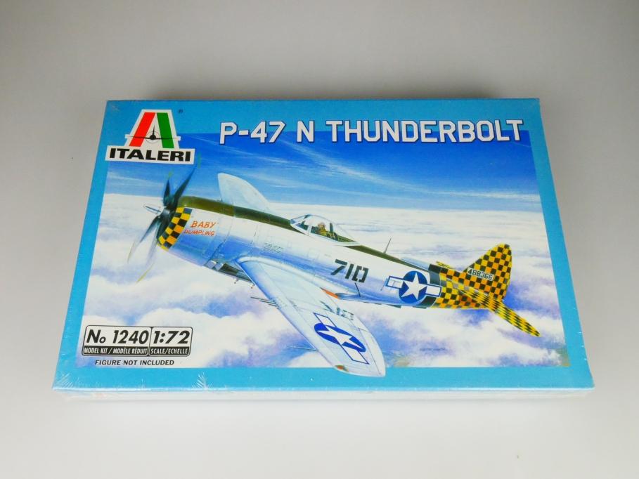 Italeri 1/72 P-47 N Thunderbolt No. 1240 plane model kit OVP 109827
