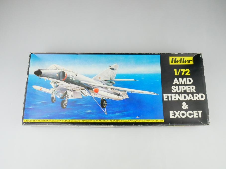 Heller 1/72 AMD Super Etendard & Exocet No. 360 plane model kit OVP 109833