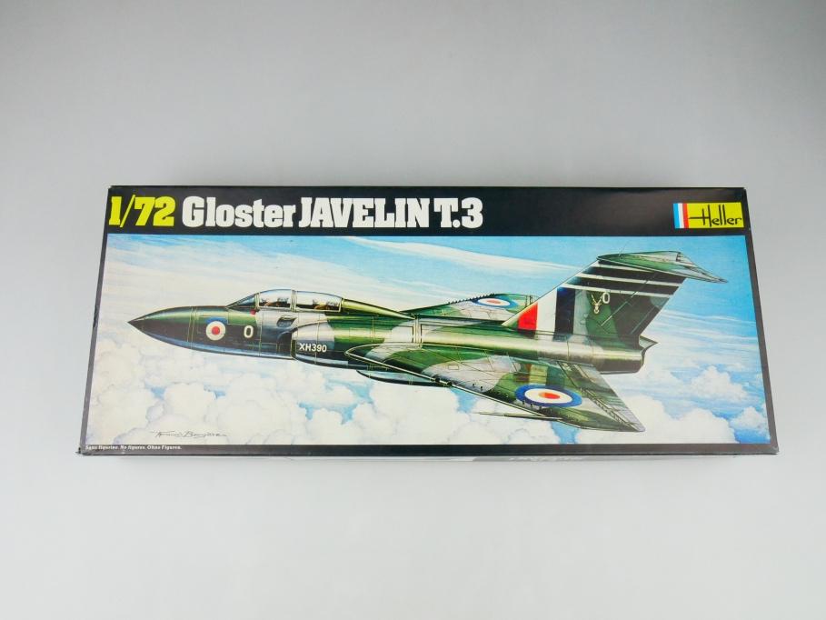 Heller 1/72 Gloster Javelin T.3 No. 346 plane model kit OVP 109835