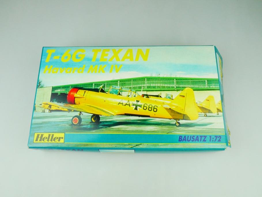 Heller 1/72 T-6G Texan Havard MK IV No. 80204 plane model kit OVP 109844