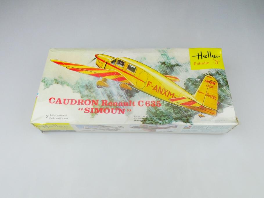 """Heller 1/72 Caudron Renault C 635 """"Simoun"""" No. 165 / 208 plane kit OVP 109845"""