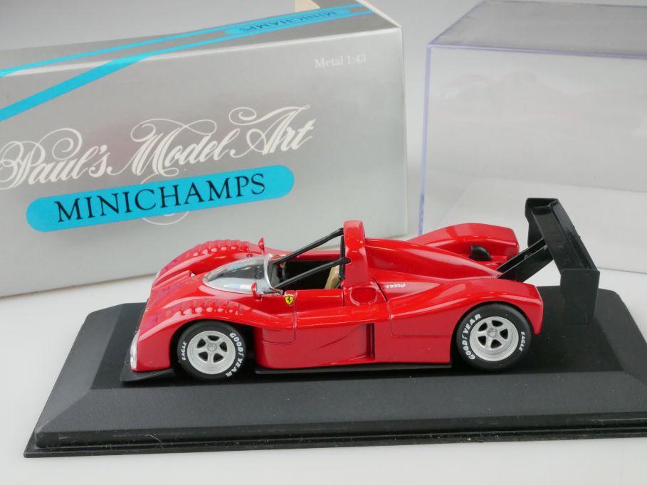 Minichamps 1/43 Ferrari 333 SP IMSA WSC 1994 Presentation 430947400 Box 109946