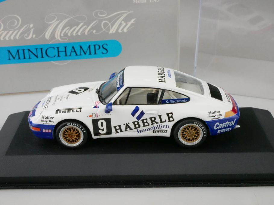 Minichamps 1/43 Porsche 993 ADAC GT Cup 1994 Niedzwiedz 430946109 Box 109947