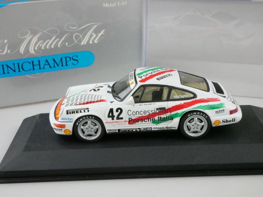 Minichamps 1/43 Porsche CUP 1992 E Walcher #42 italia MIN 926042 Box 109948