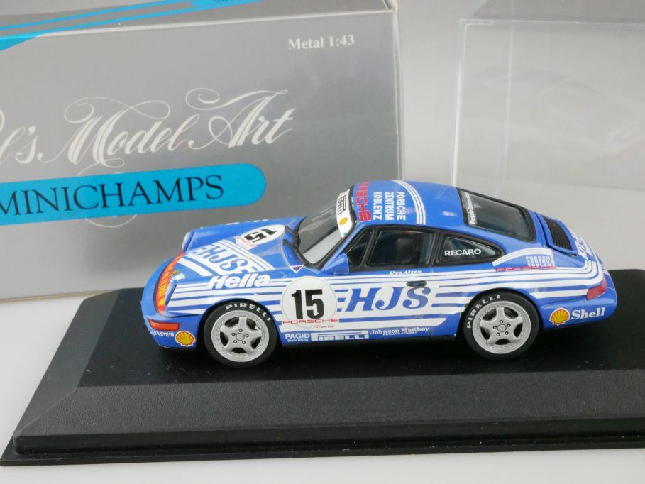 Minichamps 1/43 Porsche CUP 1992 Alzen Koblenz #15 MIN 926015 Box 109949