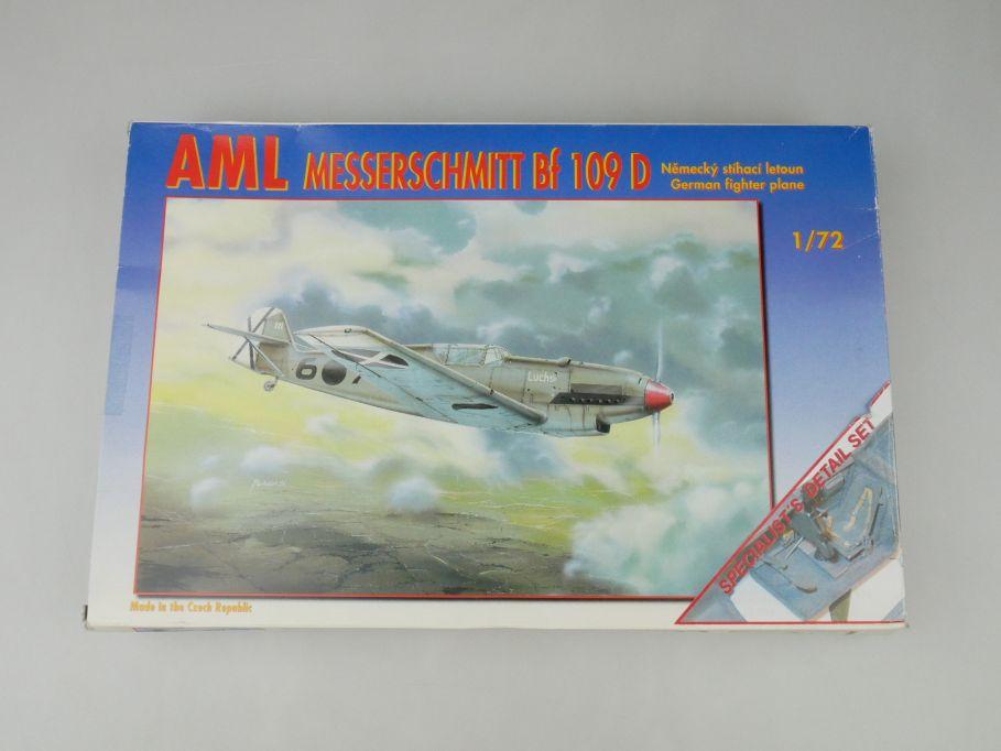 AML 1/72 Messerschmitt Bf 109 D German fighter No 72 028 plane kit OVP 110000