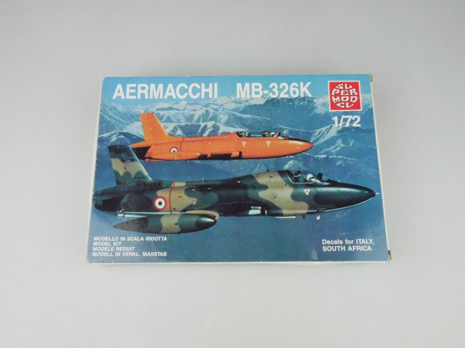 Supermodel 1/72 Aermacchi MB-326K No 10-012 plane kit OVP 110013