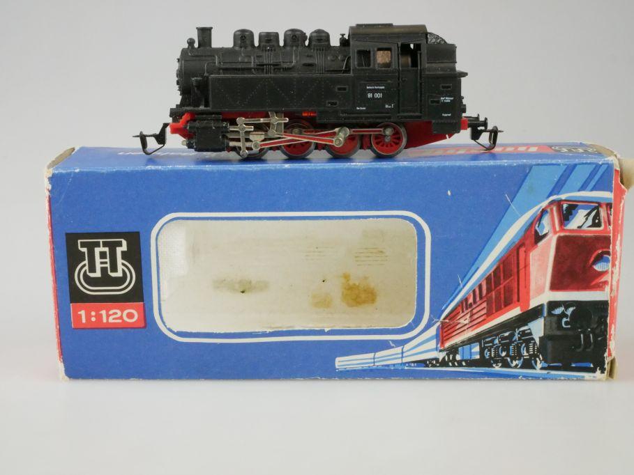 Berliner TT Bahnen BTTB 2210 BR 81 Dampflok in OVP 110055