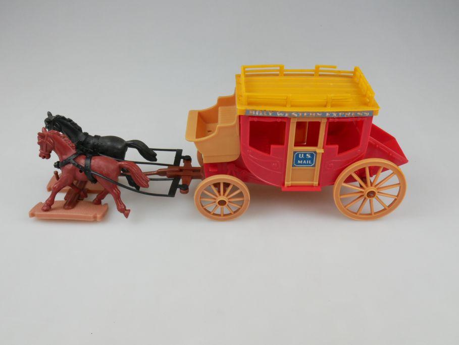 Plasty Billy Western Post Kutsche coach 110233