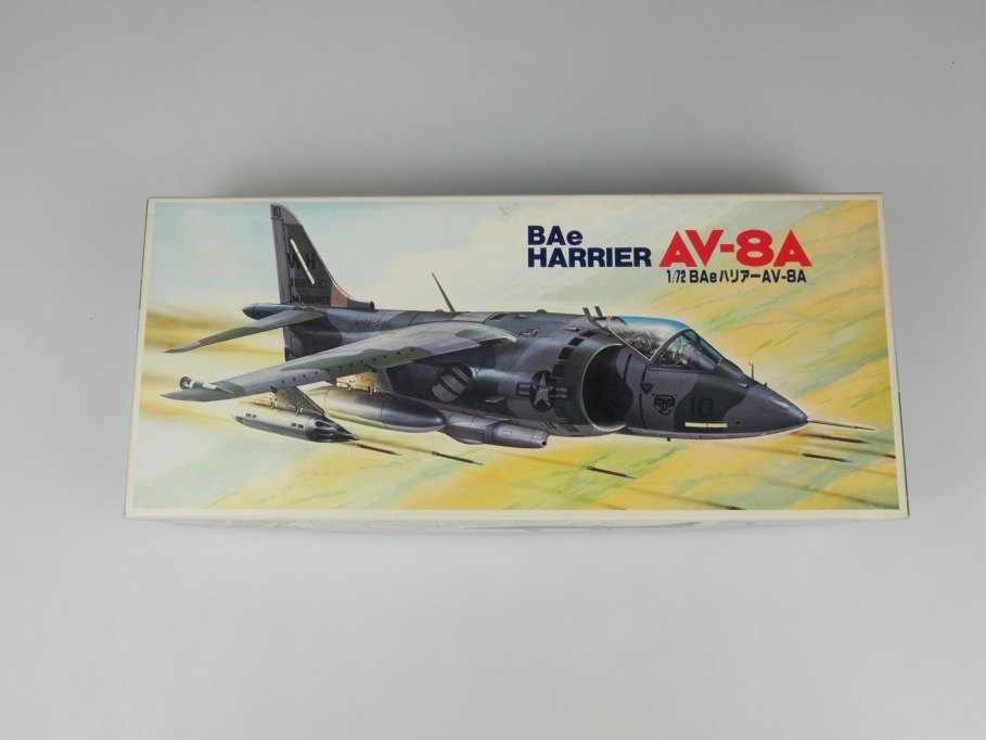 Fujimi 1/72 BAe Harrier AV-8V No 7A-B3-500 OVP plane model kit 110158
