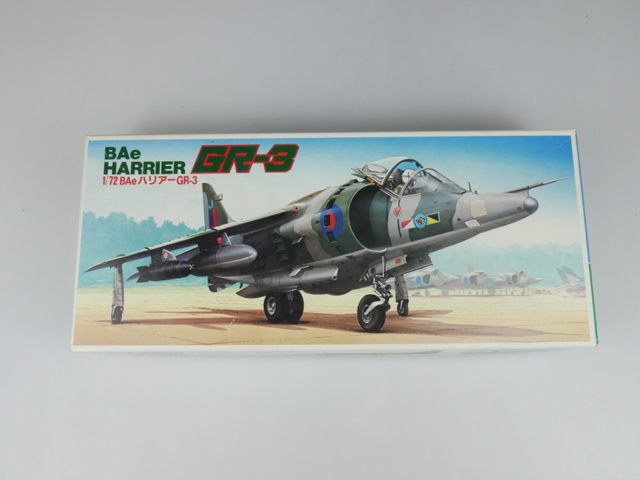Fujimi 1/72 BAe Harrier GR-3 No 7A-B4-500 OVP plane model kit 110159