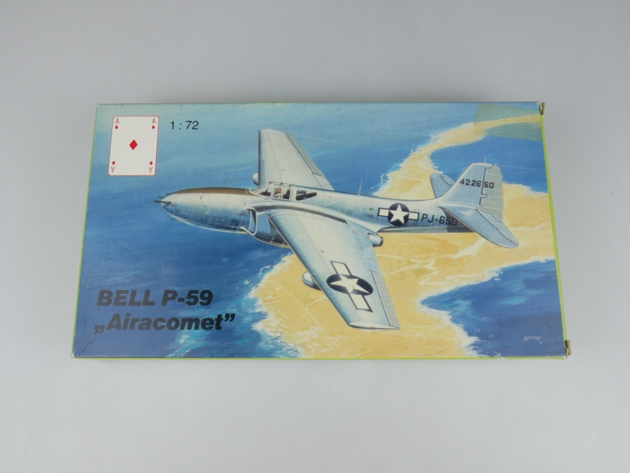 "Karo-As 1/72 Bell P-59 ""Airacomet"" No AM-04.72 OVP model kit 110209"