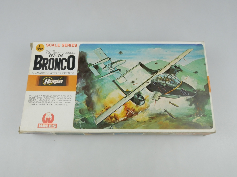 Bieco Bausatz 1/72 OV-IOA Bronco U.S. Marines Fighter No JS-022 OVP kit 110210
