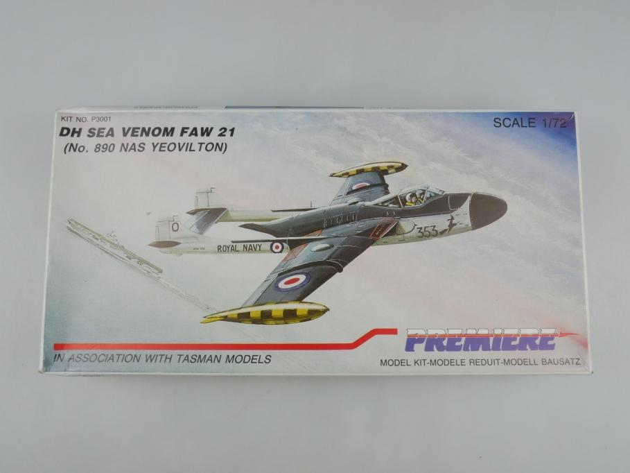Premiere 1/72 DH Sea Venom Faw 21 No 890 Nas Yeovilton No P3001 OVP kit 110211