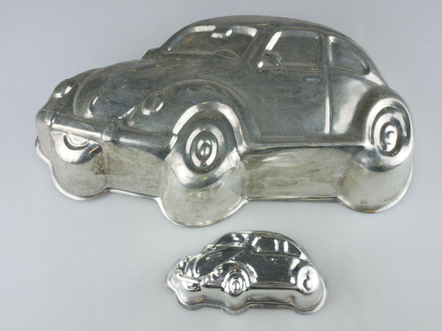 2x Volkswagen VW Käfer Kuchen Backblech Kuchenform Backform baking pan 110231