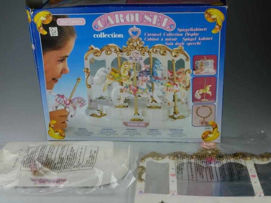 Matchbox Carousel Spiegelkabinett ohne Pferd without horse CL200 Box 110240
