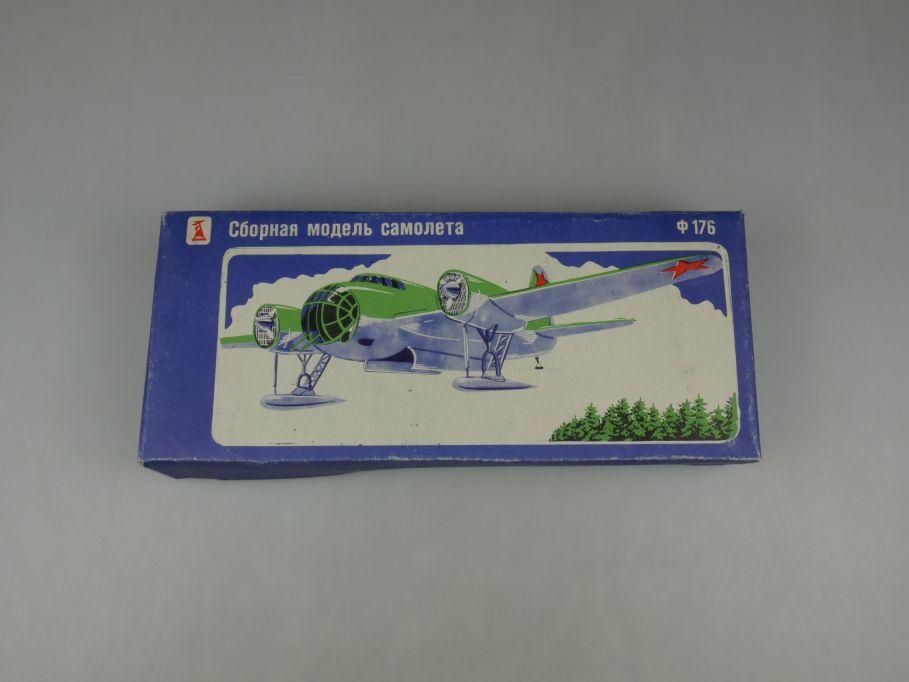 USSR CCCP 1/72 Tupolev SB-2 176 vintage Russian Bomber soviet kit Box 110275