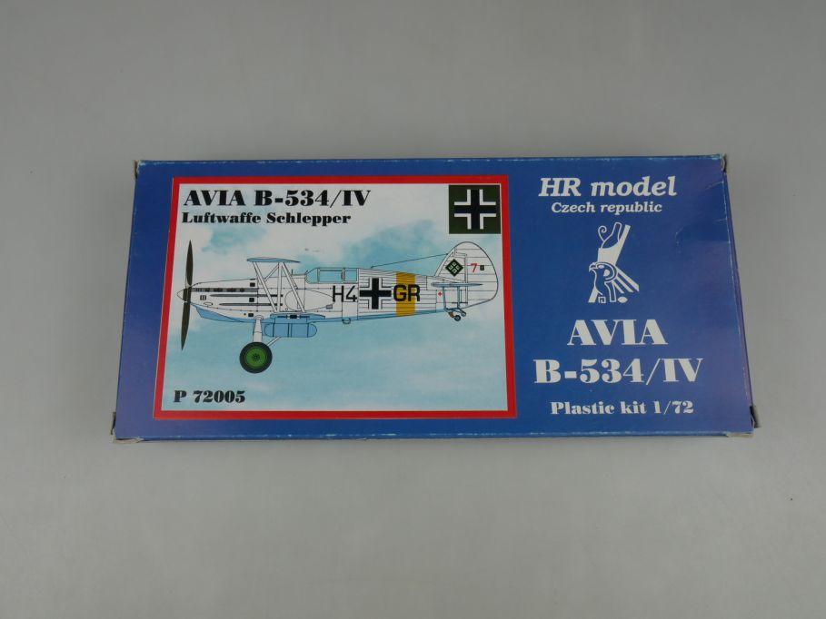 HR model 1/72 AVIA B-534/IV prop plane Luftwaffe Schlepper P 72005 kit 110277