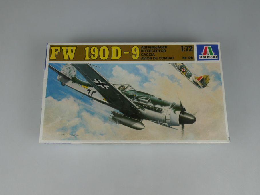 Italaerei 128 1/72 FW 190D-9 Focke Wulf Prop Abfangjäger Kit Bausatz Box 110283