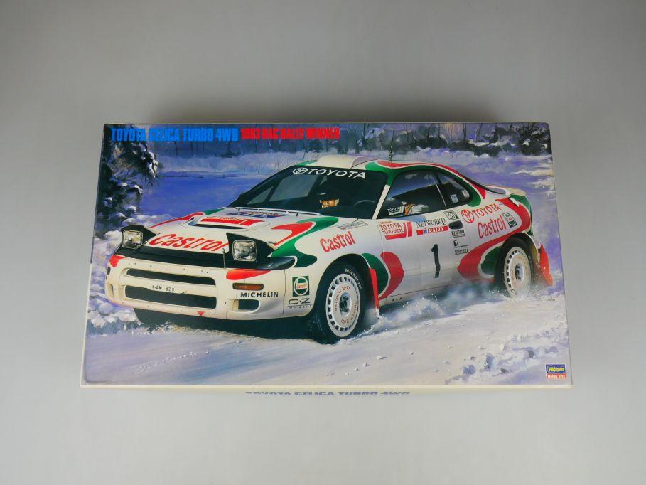 Hasegawa 1/24 Toyota Celica Turbo 4 WD 1993 RAC Winner No 25061 OVP kit 110386