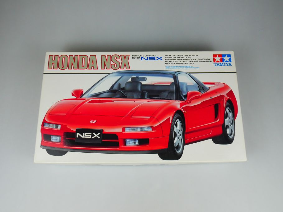 Tamiya 1/24 Honda NSX No 24100 OVP car model kit 110391