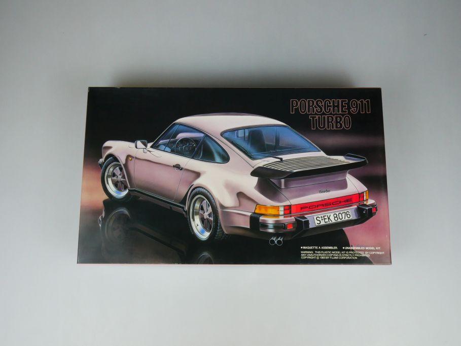 Fujimi 1/24 Porsche 911 Turbo No 12405 OVP car model kit 110397