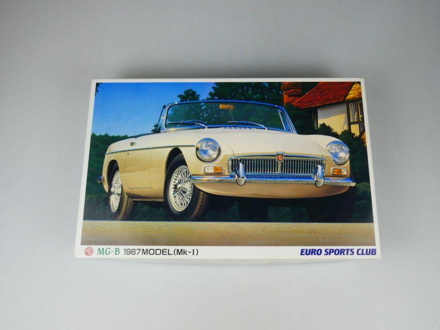 Aoshima 1/24 MG-B 1967 Model (Mk-I) Euro Sports Club No 01397 OVP kit 110402