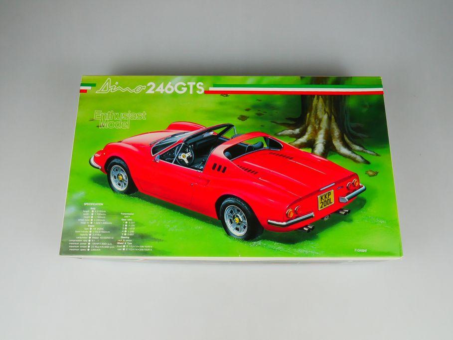 Fujimi 1/24 Dino 246GTS No 18 OVP car model kit 110410