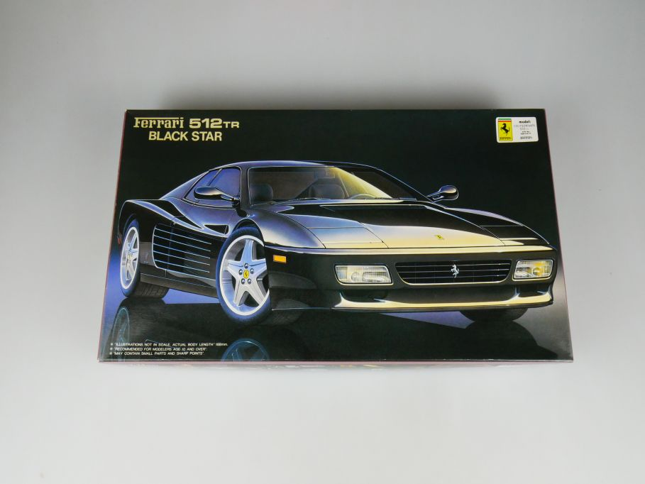 Fujimi 1/24 Ferrari 512 TR Black Star RS-47 No 12062 OVP car model kit 110412