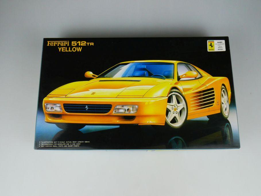 Fujimi 1/24 Ferrari 512 TR Yellow RS-48 No 12063 OVP car model kit 110445