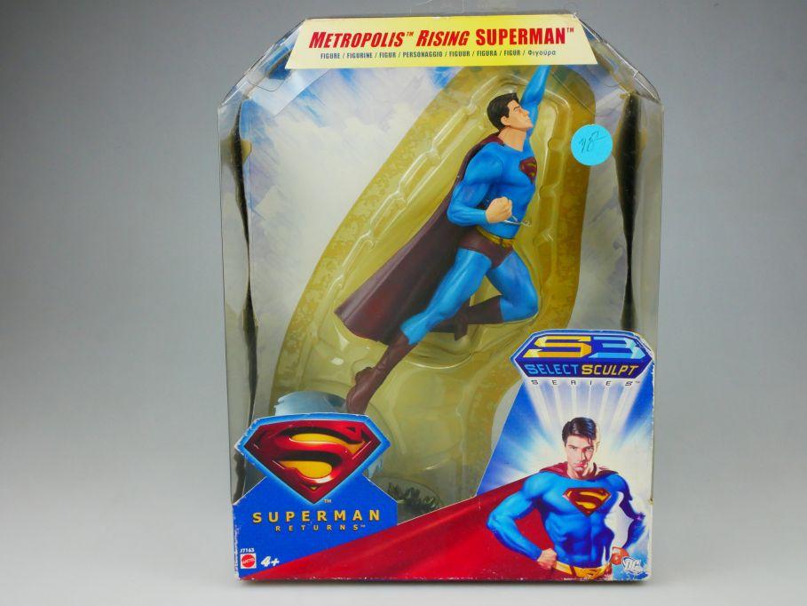 Superman Returns Figur Metropolis Rising Superman Mattel J7163 Box 110429