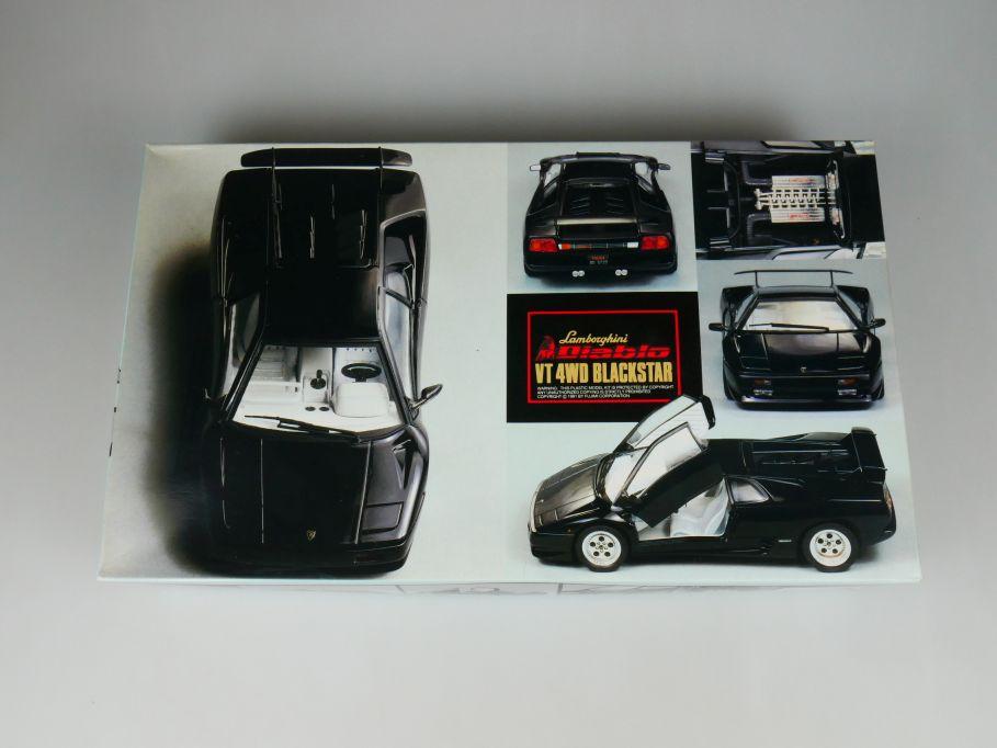 Fujimi 1/24 Lamorghini Diablo VT 4WD Blackstar -1800 No 12057 OVP car kit 110454