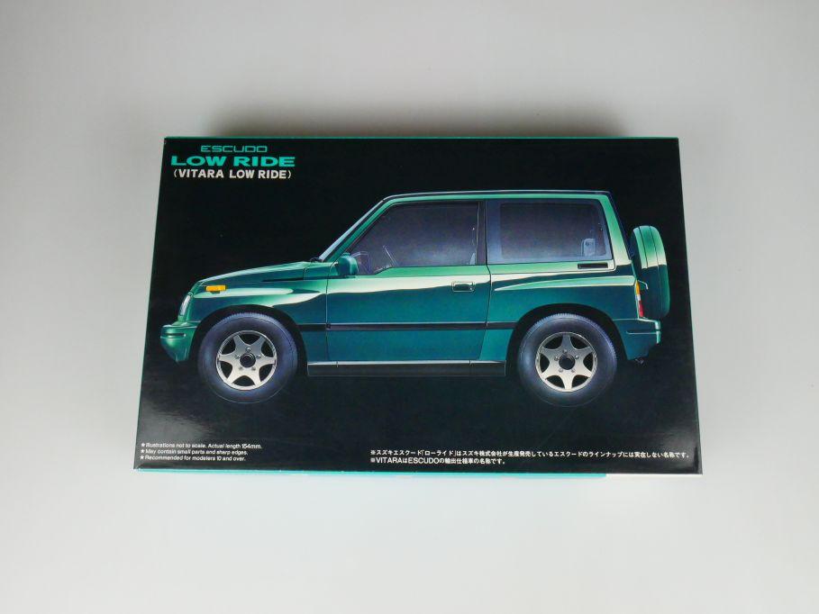 Fujimi 1/24 Escudo Low Ride Vitara ID-73 No 03372 OVP car model kit 110457