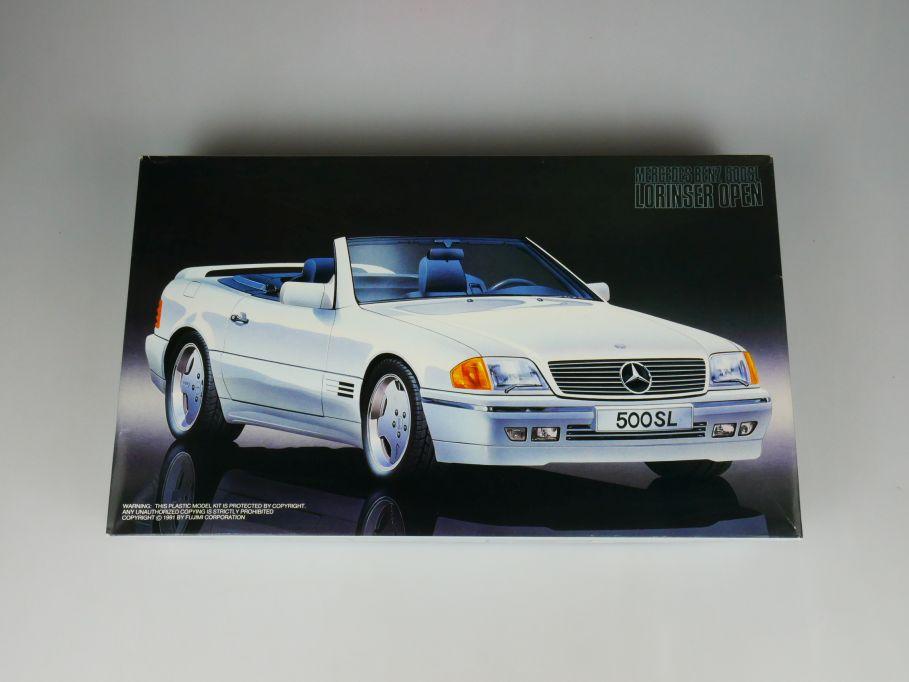 Fujimi 1/24 Mercedes Benz 500SL Lorinser Open -1200 1047 No 12043 OVP kit 110460