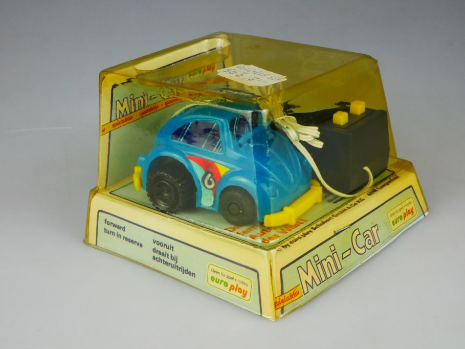 Mini-Car Volkswagen Käfer Beetle VW Bug vintage RC toy europlay Box 110431