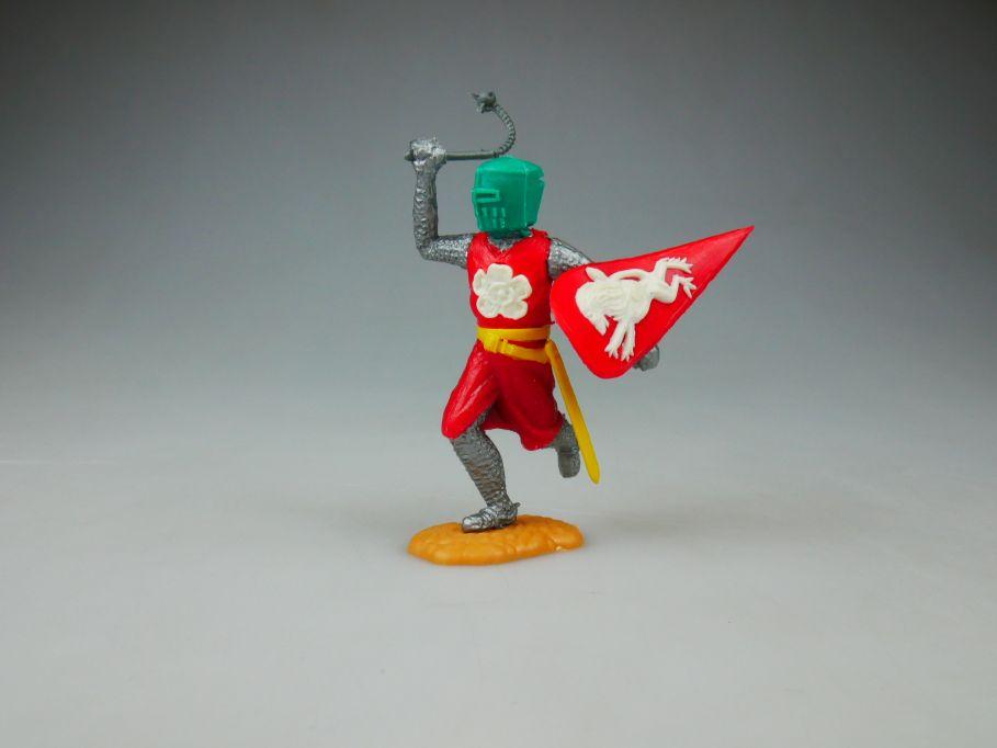 TIMPO Topf Helm Ritter rot gelb Helm grün Variante selten 110488