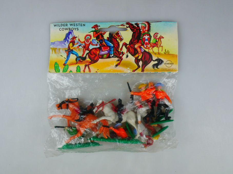 Behrends Spielwaren Wilder Westen Cowboys OVP 110491