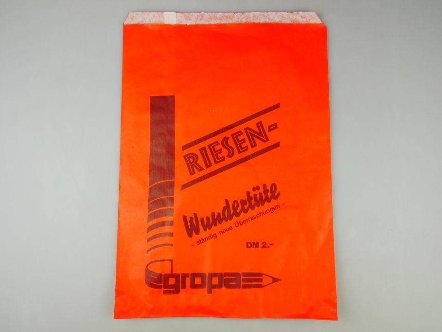 Egropa Riesen Wundertüte 23cmx 33cm orange 110219