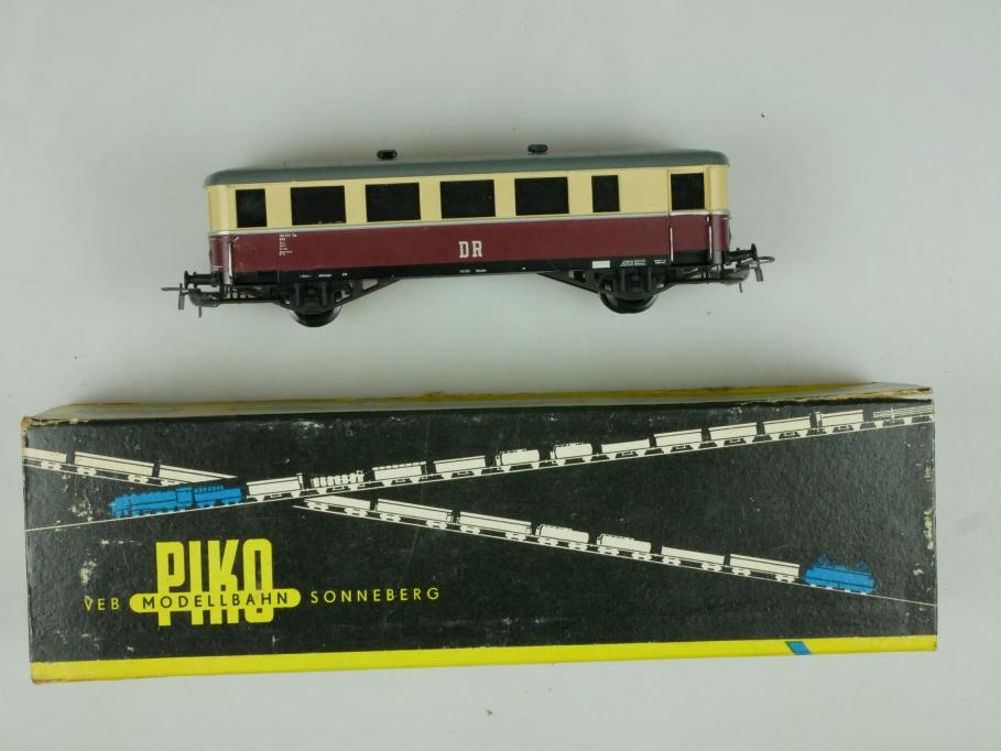 Piko H0 6504 DR Beiwagen weinrot / elfenbein  OVP 110549