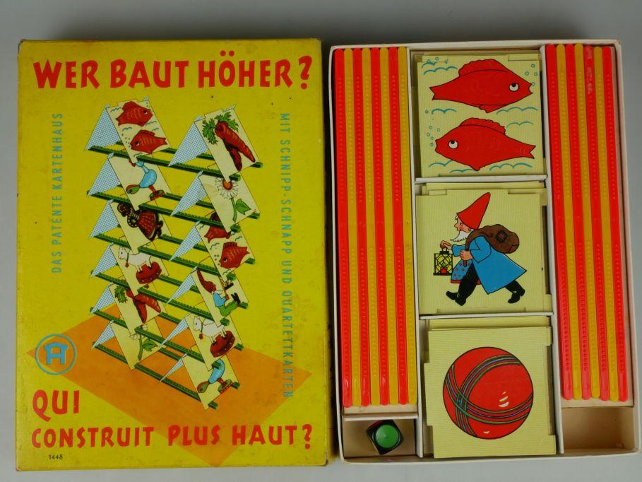 Hausser Spiel - Wer baut höher Qui construit le plus haut 1448 vintage 110605