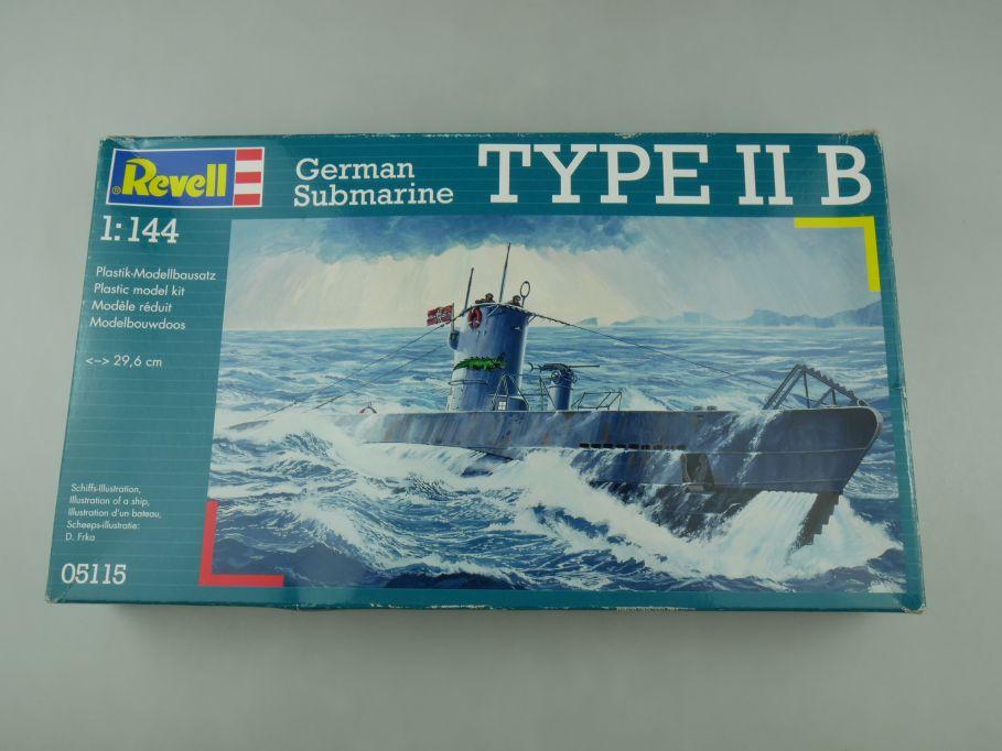 Revell 1/144 German Submarine Type II B 05115 deutsch Uboot OVP kit 110573