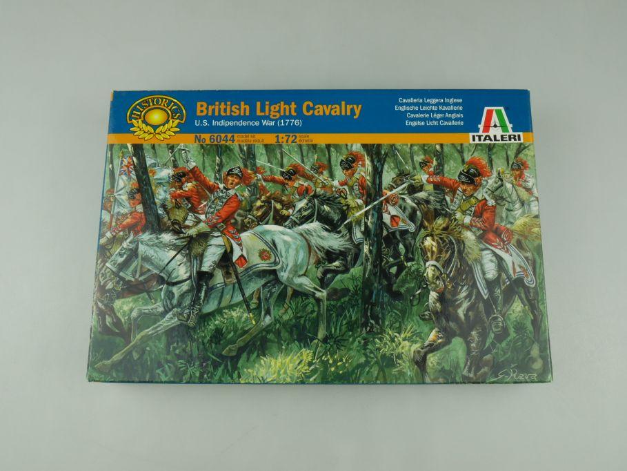 Italeri 1/72 British Light Cavalry US Independence War 1776 6044 OVP kit 110583