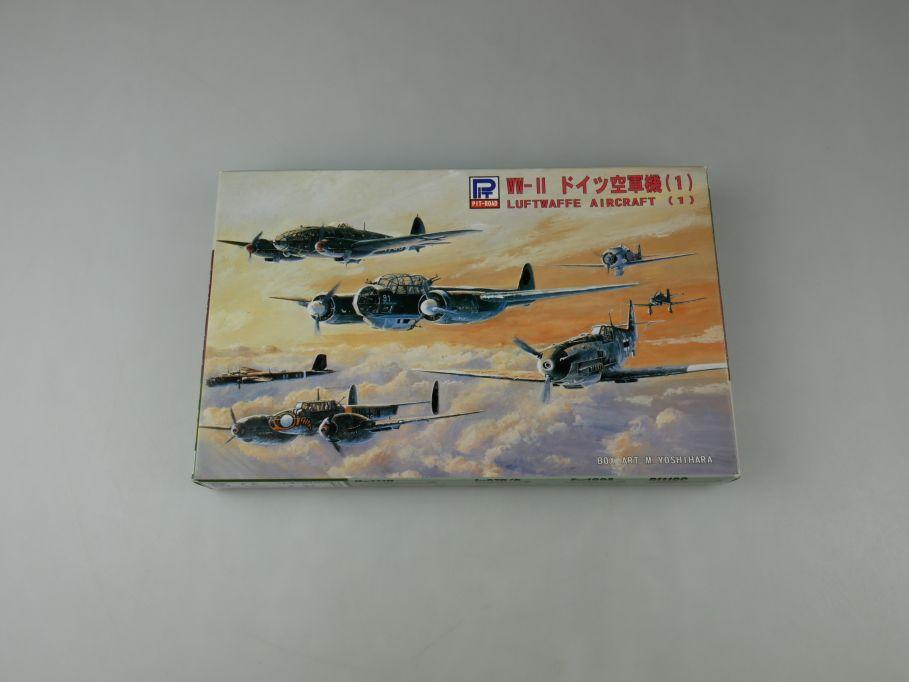 Pit-Road 1/700 WW-II Deutsche Luftwaffe Aircraft (1) Set S17 OVP kit 110584